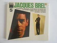 """JACQUES BREL : VOL. 5 """"LES BOURGEOIS"""" - [ CD ALBUM NEUF ] --> PORT GRATUIT"""