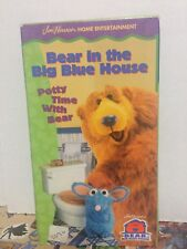 Bear In The Big Blue House Potty Time With Bear VHS