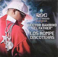 """LP 12"""" 30cms: Roc la Familia & Hector Bambino: los rompe discotekas, def jam B5"""