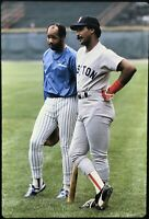Jim Rice Cecil Cooper 35mm Baseball Slide Boston Red Sox Milwaukee Brewers D5