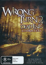 Wrong Turn 2 (II) - Dead End - Horror / Gore - Henry Rollins - NEW DVD