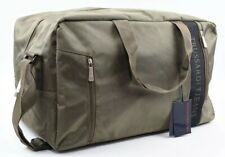 TRUSSARDI JEANS Large Holdall, Weekend Bag, Travel Bag, Army Green