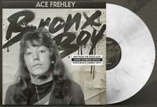 Ace Frehley BRONX BOY NUmbered White Base/Black Marble Vinyl single w/ download