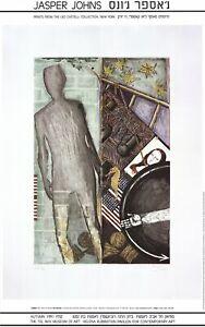 JASPER JOHNS Summer (1987) 34.5 x 21.75 Poster 1991 Pop Art