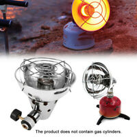 OUTDOOR CAMPING PROPANE BUTANE GAS HEATER TENT HEATING STOVE WITH STAND FILL