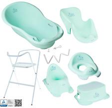 Tega Baby ® Badewanne Gestell Abfluss Badesitz Töpfchen Toilettentrainer Hocker