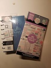The Happy Planner Mini Undated Wellness 12 month Self Care Lot