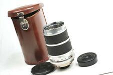 Lens Voigtlander SUPER DYNAREX  135mm  F4  DKL Bessamatic mount