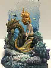 Sunlit Seas bookend by Selena Fenech mermaid home decor sculpture beautiful