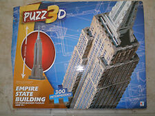 Wrebbit Puzz 3D,The Empire State Building puzzle, 300 pieces, Sealed Box