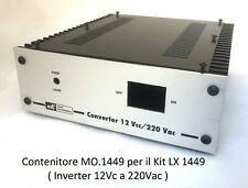 Mo.1449 Container New Electronics inverter from 12vcc to 220vac LX 1449