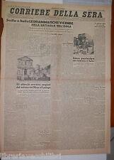 20 agosto 1943 Guerra Sicilia Battaglia Biserta Quebec Campagna di Russia Ciano