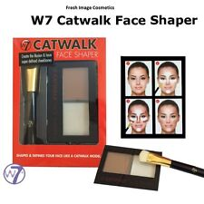 W7 catwalk face shaper new sealed prime highlight shade & blend new boxed