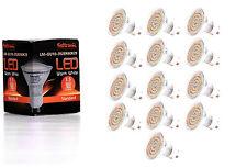 13X GU10 LED Lampe von Seitronic mit 3,5 Watt, 300LM und 60 LEDs Warm weiß 2900K