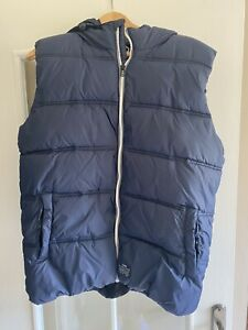 Mens Jack & Jones Navy Core Gilet - Size M