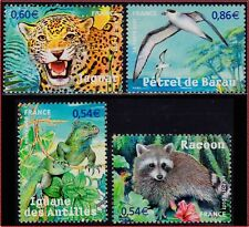 2007 FRANCE N°4033/4036** Faune en voie de disparition, Endangered fauna MNH
