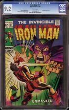 Iron Man # 11 CGC 9.2 White (Marvel, 1969) Mandarin appearance