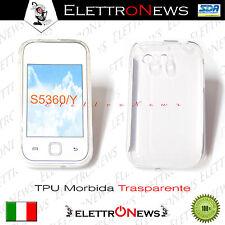 Custodia, Tpu in Gomma Mormida Samsung s5360 Galaxy y Trasparente