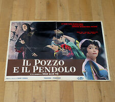 IL POZZO E IL PENDOLO manifesto poster Steele Price The Pit and the Pendulum