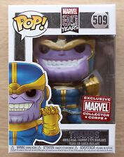 Neues AngebotFunko POP Marvel 80 Jahre Thanos MCC + Protector