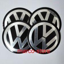 4 Coprimozzo Borchie Cerchi in Lega 90 mm VW Volkswagen Golf Polo Beetle Passat