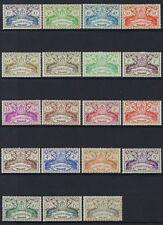 Guadeloupe #168-86 MH, SCV. $16.70