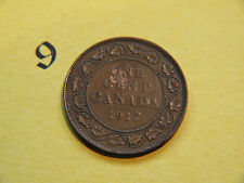 1917 Canada Large Cent Coin , Canadian One Cent
