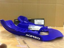 YAMAHA  YZ 250  2005-2017 ACERBIS MX PLASTIC SKID GLIDE PLATE SUMP GUARD BLUE