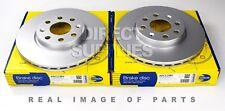 2 X FRONT AXLE BRAKE DISCS FIAT GRANDE PUNTO PUNTO EVO (199_) COMLINE ADC1138V