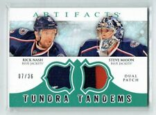 12-13 UD Artifacts  Rick Nash--Steve Mason  /36  Dual Patches