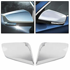 For 2014 15 16 17 18 19 20 Chevy Impala Chrome Triple Mirror Covers Overlay Trim