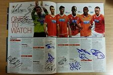 Multi-Signé (15) Blackpool (Away) Programme, 21st avril 2014