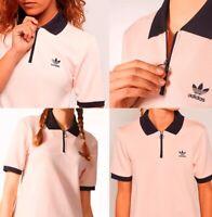 Adidas Originals Osaka Polo Half Zip Shirt Women's
