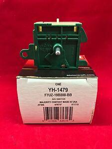 New OEM Genuine Motorcraft Ford HVAC Blower Control Switch F7UZ-19B888-BB YH1479