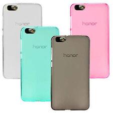 For Huawei Honor 4C-G Play Mini TPU Matte Gel Skin Case Back Cover