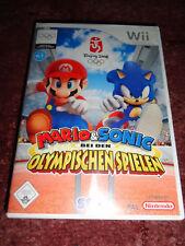 "Wii Spiel Mario & Sonic Olympische Spiele ""Nintendo"" inkl.Anleitung * * *"