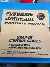 EVINRUDE JOHNSON 17FT BOAT SHIFT THROTTLE CONTROL CABLE 176117
