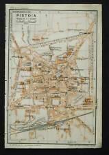 Antica Mappa =Topografica= PISTOIA =Scala1:15000 -1907c