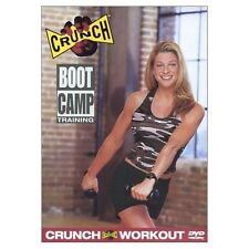 Crunch  BOOT CAMP TRAINING (DVD) bootcamp workout calorie burner tone NEW