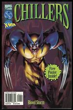 Marvel Comics Chillers Blood Storm Trade Paperback TPB w/ Poster X-Men Dracula 1