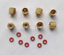 8x Copper thread O-ring for Epson 7600 9600 7800 7880 9800 9880 4800 4880 damper