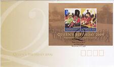 2009 Birthday Of Her Majesty Qeii (Mini Sheet) Fdc - Windsor Nsw 2756 Pmk