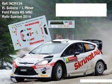 DECALS 1/43 FORD FIESTA RS WRC - #16 H.SOLBERG - RALLYE DE SUEDE 2014 - NCM134