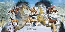 ** American Horses mustang apaloosa Hackney Malawi 2012 mint MNH IMPERF  #C278