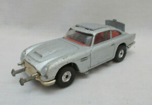Vintage Corgi 217 James Bond 007 Aston Martin DB5 Car - Made In Gt Britain Lot C