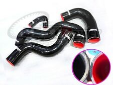 Silicone Intercooler Hose / Pipe Black For 2009/ 09/10/11/12 Audi B8/A4/A5 2.0T