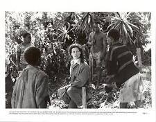 Sigourney Weaver close up Gorillas in the Mist 1988 original movie photo 12413