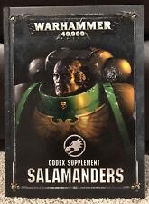 Warhammer 40k - Salamanders - Codex Supplement