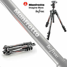 Manfrotto BeFree Compact Travel Carbon Fiber Tripod + Head + Bag Kit #MKBFRC4BH