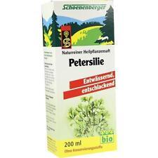 PETERSILIE Schoenenberger Heilpflanzensäfte 200 ml PZN 700080
